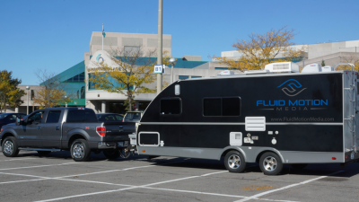 Fluid Motion Media's video production trailer.